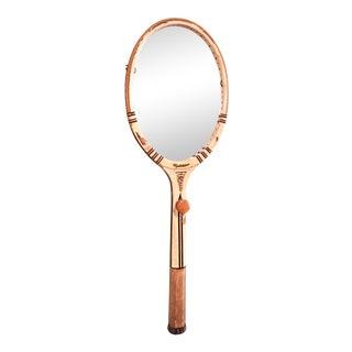 Vintage Tennis Racquet Mirror