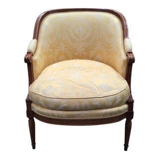 John Nelson Rateau Bergere Chair