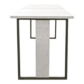 """Bespoke """"Hazel"""" Marble / Steel Dining Table"""