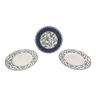 Fitz & Floyd Luncheon Plates - Set of 3