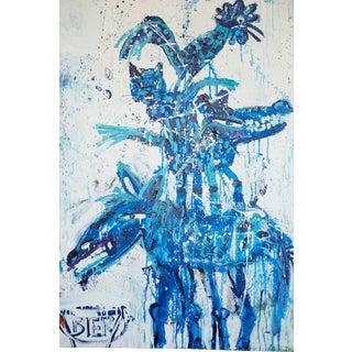 """""""Delfts Blauw"""", John Van Orsouw, Acrylic on Canvas"""