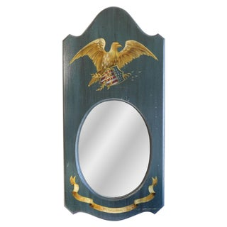 Hand-Painted Eagle Mirror