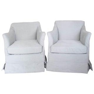 Am Designs Mark Club Chairs - A Pair