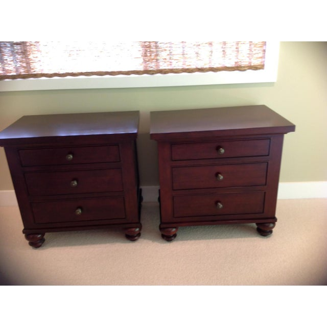 Restoration Hardware Camden Style Nightstands - A Pair - Image 6 of 6