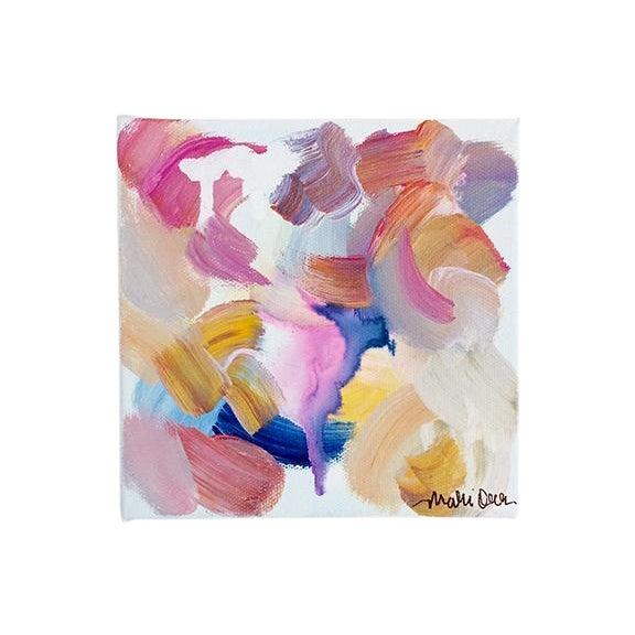 Caroline Original Abstract Painting - Image 1 of 4