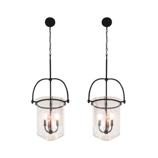 Hinkley Clancy Pendant Light Fixtures - A Pair