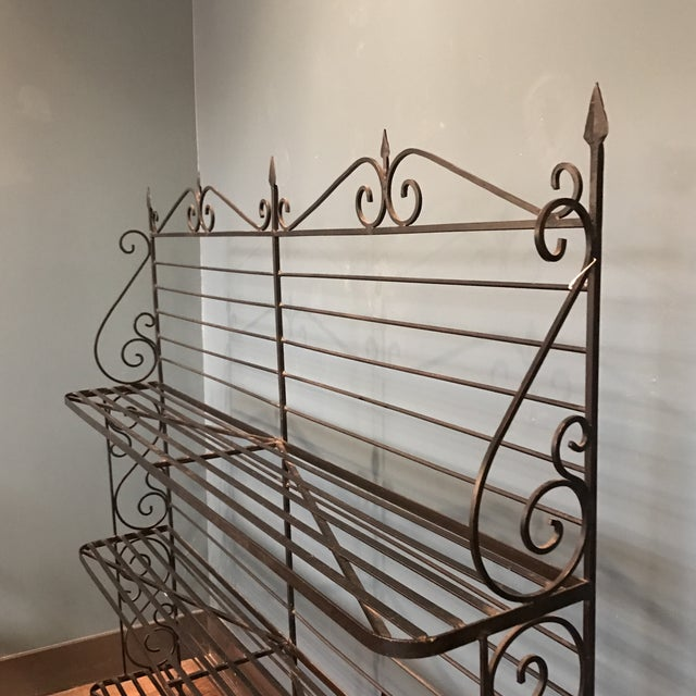 Image of Wrought Iron Baker's Rack