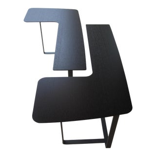 Natuzzi L-Shaped Side Tables - A Pair