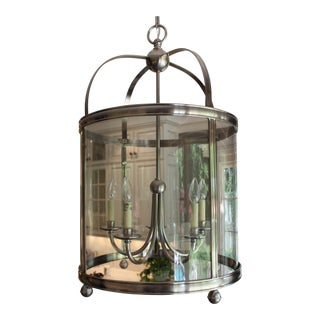 Visual Comfort E.F. Chapman Edwardian 5-Light Nickel Lantern