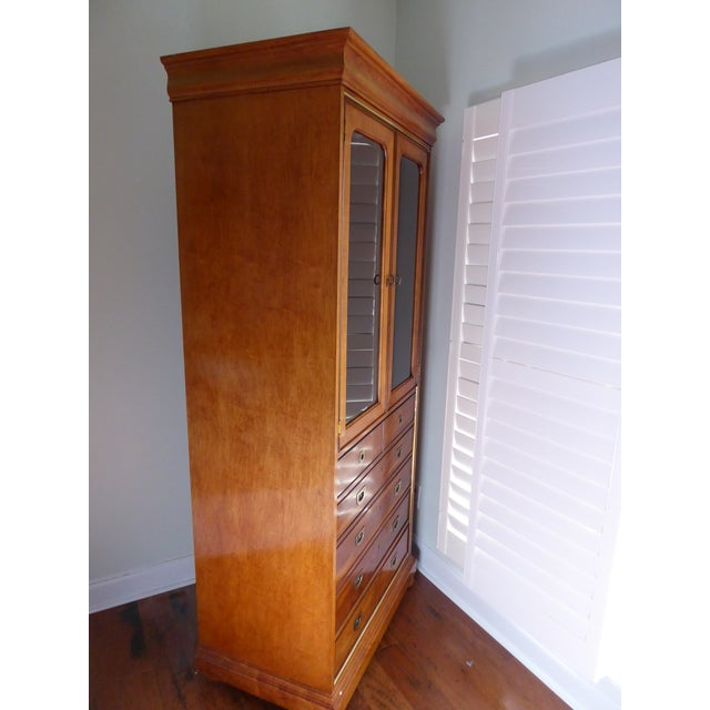 Mt. Airy Entertainment Display Armoire Cabinet - Image 7 of 11