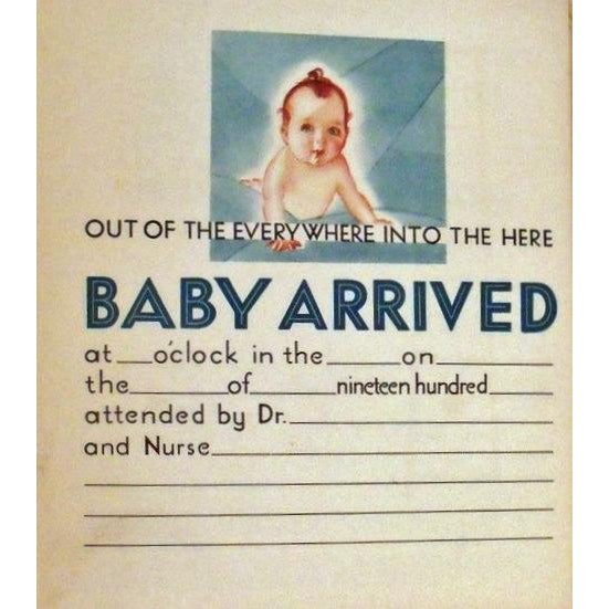 Art Deco Baby Book - The Years of Babyhood Unused - Image 3 of 5