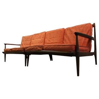 Mid Century Danish Modern Two Piece Sectional Sofa