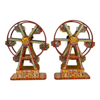 Antique Hercules Ferris Wheels - A Pair