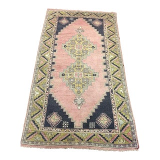 "Blush Geometric Turkish Rug - 4'2"" x 7'6"""