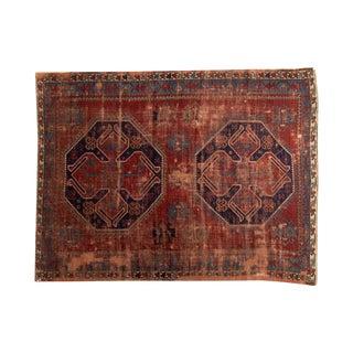 "Vintage Caucasian Carpet - 5'8"" X 7'6"""