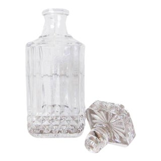 Scotch Lead Crystal Cut Glass Decanter