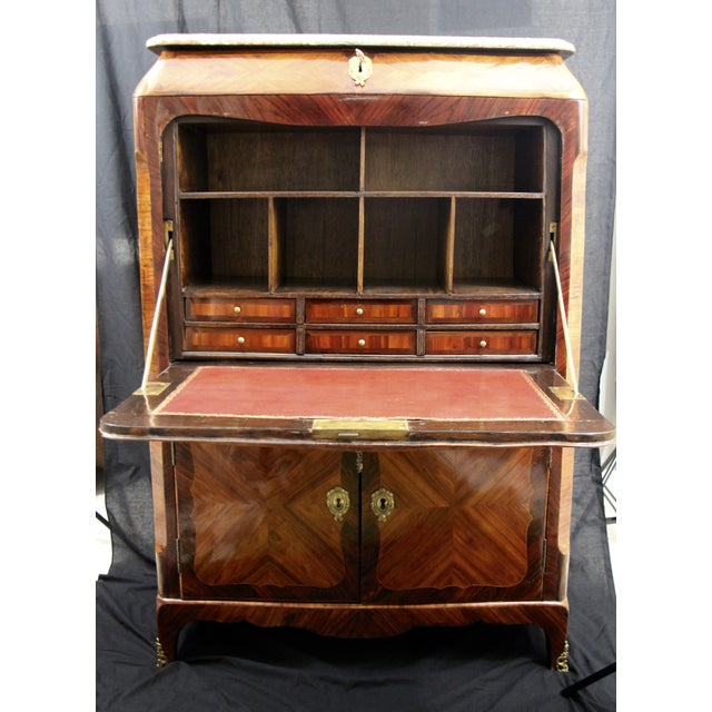 Image of 18th Century Louis XV Secretaire