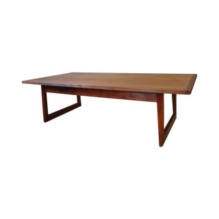 Jens Risom Mid Century Coffee Table