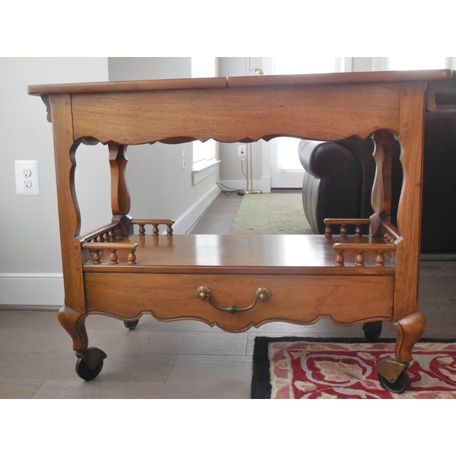 1940s Thomasville Sideboard Cart - Image 4 of 5