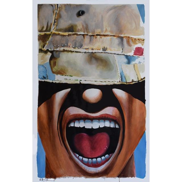 Moron Hat Guy Original Painting - Image 1 of 9