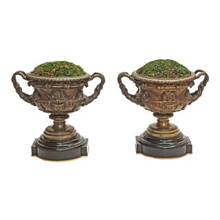 Pair of Grand Tour Urns / Warwick Cups