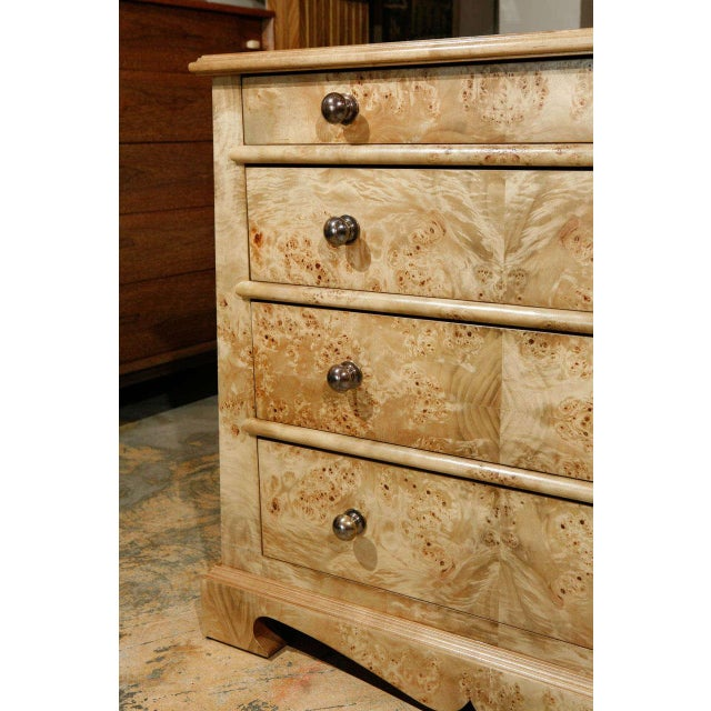 Paul Marra European Style Chest in Mappa Vaneer - Image 5 of 8