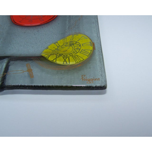 Image of Higgins Mid-Century Art Glass Ashtray