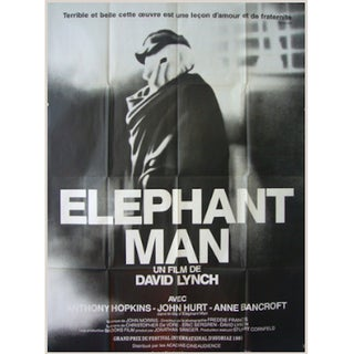 Original Elephant Man Movie Poster, 1980