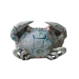 Handmade Clay Crab Wall Mount Vase