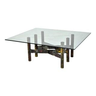 Paul Evans Welded Steel 1967 Cocktail Table