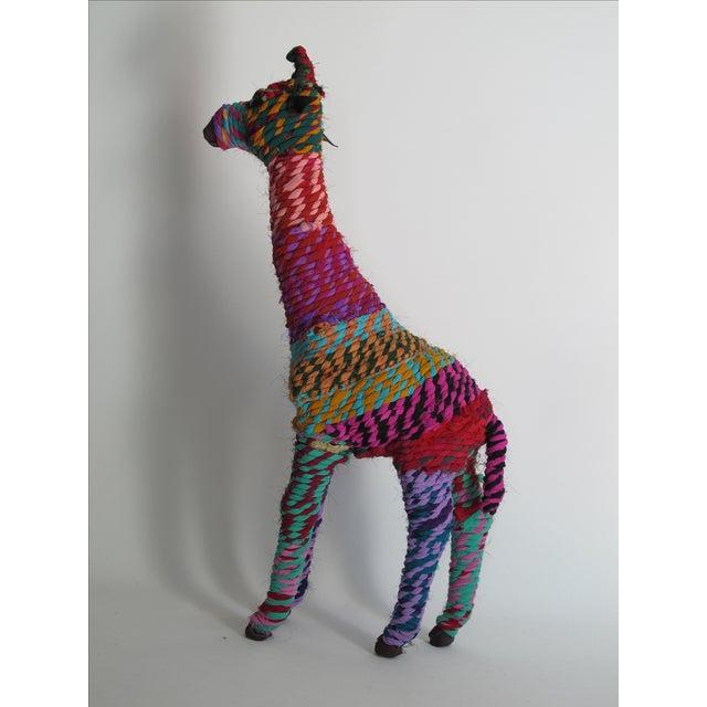 Boho Indian Chindi Giraffe - Image 7 of 7