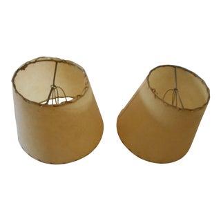Mid-Century Boudoir Lamp Shades - A Pair
