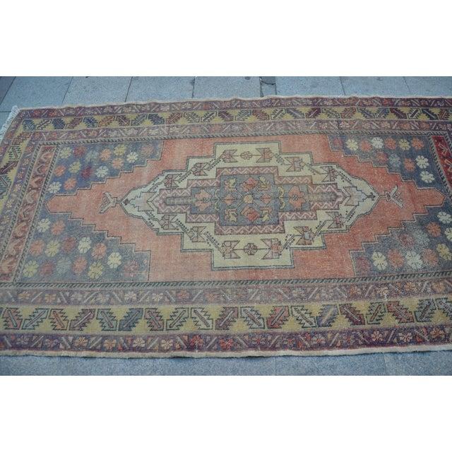 Turkish Tribal Floor Rug - 4′9″ × 8′10″ - Image 4 of 6