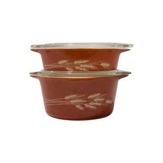 Pyrex Autumn Harvest Cinderella Bowls- A Pair
