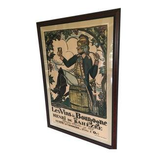 Vins De Bourgogne De Henri De Bahezre Print