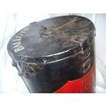 Image of English Painted Metal Ballot Box