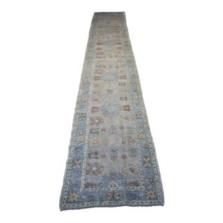 "Turkish Handmade Runner - 3'6"" x 21'3"""