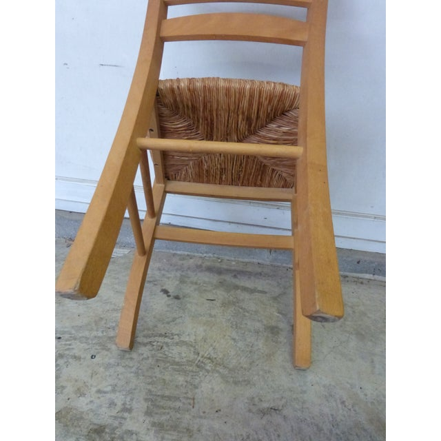 Image of Rush Seat Chairs - Set of 4