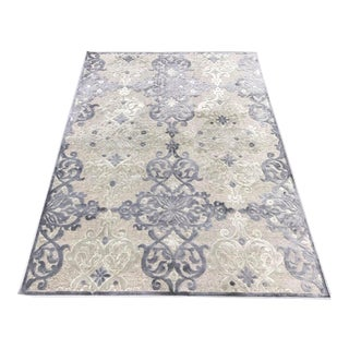 Transitional Gray Rug - 8' x 10'