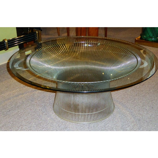 Iconic Warren Platner Coffee Table for Knoll - Image 4 of 10