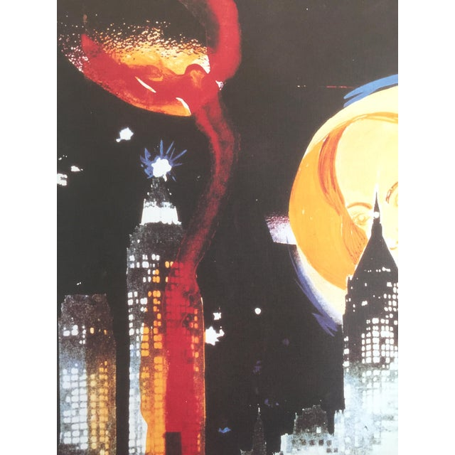 "Salvador Dali ""Manhattan Skyline Tarot the Moon"" Original Limited Edition Lithograph - Image 5 of 8"