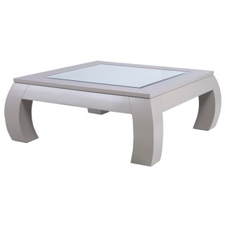 Kravet Square Mirrored Cocktail Table