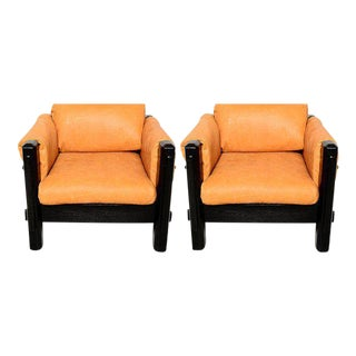 Mid-Century Modern Pair of Brazilian Armchairs