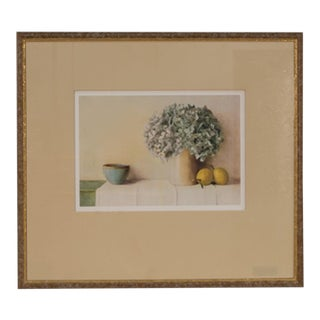 Vintage Sarreid Ltd. Framed Print of Hydrangeas