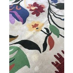 Image of Designer Hand Tufted Floral Wool/Cotton Area Rug- 9′ × 12′