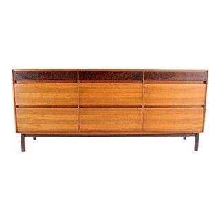 Danish Mid-Century Modern Walnut Long Dresser or Credenza by John Stuart