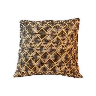 African Kuba Kasai Textile Pillow