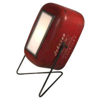 Vintage Gas Can Floor Lamp Spotlights - A Pair