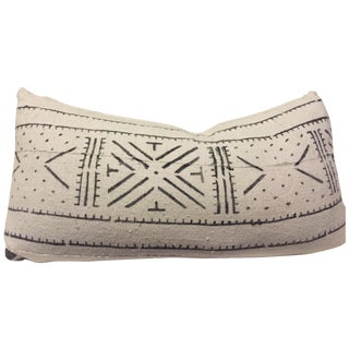 African Mudcloth Boho Chic Pillow