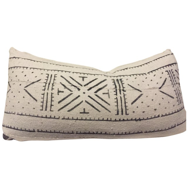 African Mudcloth Boho Chic Pillow - Image 1 of 5